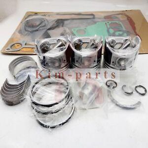 STD Gasket &Piston&Ring &Bearings &Washer &Bushing for Kubota D1305 Engine