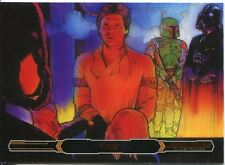 Star Wars Empire Strikes Back Illustrated Bronze Parallel Base Card #80