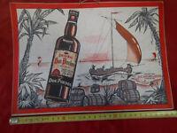 pub cartonné pour bar/bistrot...vintage
