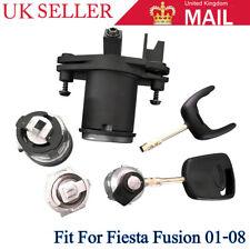 Ignition Barrel Door Lock Set With 2 keys For Ford Fiesta MK V Fusion 1479660 OL