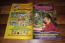 VANESSA # 96 -- das GRAB im SPINNENGARTEN // mit Poster / Impressum 1.1.1985
