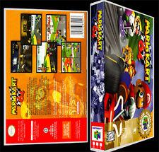 Mario Kart 64 - N64 Reproduction Art Case/Box No Game.