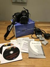 Black Canon PowerShot SX50 HS- with Original Box And Extras