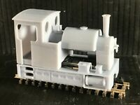 OO9/009 Saddle Tank Steam Locomotive to fit Kato chassis 11-109