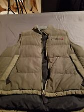 A&F Abercrombie & Fitch  Men's Size M Puffer Vest Insulated Goose Down Green
