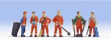 NOCH 36029 'City Cleaning' 'N' Gauge Figures for Model Railway