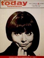 TV Guide 1969 Get Smart Barbara Feldon Regional Chicago Today TV NM/MT COA