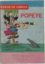 MARCH OF COMICS 274 POPEYE 1964 RARE MINI COMIC GIVEAWAY PROMO PROMOTIONAL VG-