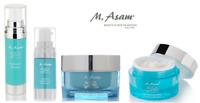 M.ASAM Aqua Intense Series with Hyaluron Acid – Eye & Face Care Anti-Aging Effec