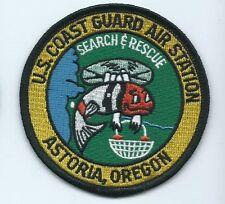 Uscg United States Coast Guard Astoria Or Cgas patch 3-3/8 dia #390