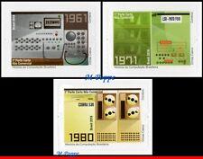 18-08 BRAZIL 2018 HISTORY OF BRAZILIAN COMPUTING, COMPUTER, SCIENCE, SET MNH