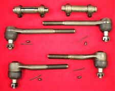 Chevrolet C10 Truck 1973 - 1986 Inner and Outer Tie Rod End Set with Sleeves