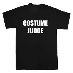 HALLOWEEN COSTUME JUDGE FANCY DRESS PARTY T SHIRT MENS WOMENS KIDS