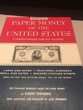Paper Money Of The United States, By Robert Friedberg 7th Edition