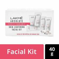 LAKME Absolute Perfect Radiance Facial Kit, 5 in 1 Products SPF 20 PA ++, 40g