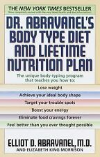 Dr. Abravanel's Body Type Diet and Lifetime Nutrition Plan by Elizabeth King Mo…