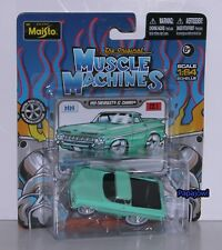 Muscle Machines Maisto 1959 Chevrolet El Camino 59 Chevy Street Rod 1:64 Scale