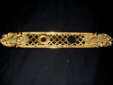 SPANISH ORNATE HEAVY BRONZE/BRASS ART NOUVEAU DOOR PLATE MADE IN SPAIN