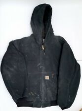 Vintage Carhartt Duck Thermal Lined Active Jacket - Large