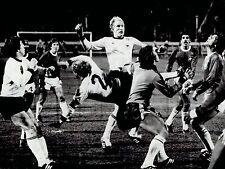 1978 Vintage Photo West Germany Soccer Team .vs. Brazil at Volksparkstadion