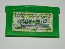 Pokemon: LeafGreen Version (Nintendo Game Boy Advance) Japan GBA