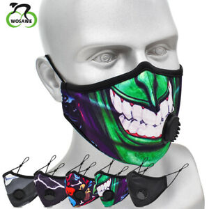 Outdoor Cycling Dustproof Face Cover with Filter Mouth Shield Mouth-muffle Gifts