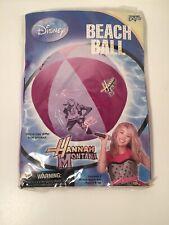 Disney Hannah Montanna Inflatable Beach Ball New