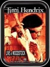 Jimi Hendrix -Collector's/Stash Tin-Woodstock-Good for Guitar Picks-Licensed New