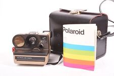 PolaSonic Autofocus 4000, Polaroid camera with case and instruction.