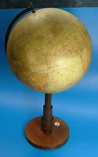 Art Deco Globus, Kosmos Erdglobus No. 8 mit Kompass, Stuttgart