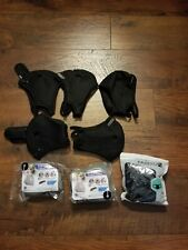 5 Black Reusable Cycling Filter Covers with Activate Carbon 20pcs