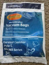 3 Johnny Bee Vac Micro Filtration Allergy Vacuum Cleaner Bags
