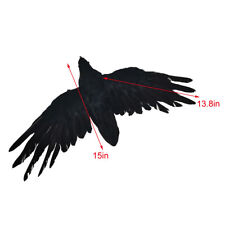 Fake Crows Black Feathered Crow Halloween Party Decorations Fake Birds