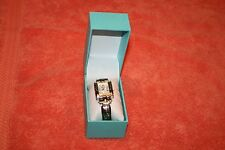 Geneva Ladies Watch in Box Love Hope Wish Joy around Square Pearly Face