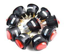 10PCS 12 Volt Toggle Rocker Switch w/ Red LED Car Automotive SPST Toggle EC-1215