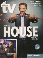 TV WEEKLY 2012 MAY 20-26 HOUSE (FAIR/GOOD COND)