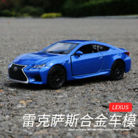 """Lexus RC F 5"""" Model Cars Toys 1:36 Collection & Gifts Alloy Diecast In boxs New"""