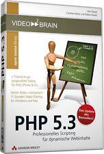 video2brain PHP 5.3 - 11 Stunden Video-Training auf DVD, NEU