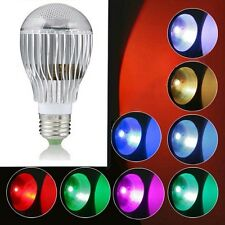 9W E27 Color LED RGB Magic Light Bulb With Wireless Remote