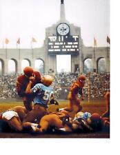 CLASSIC 1960'S UCLA VS USC COLISIEUM CALIFORNIA 8X10 PHOTO NCAA FOOTBALL