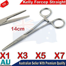 Hemostat Surgical Kelly Locking Artery Clamp Forceps Hemostatic Toothed Forceps