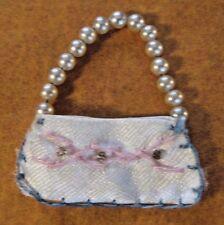 1960's Barbie Ken Accessories Barbie Doll Pearl Beaded Handbag Purse Vintage