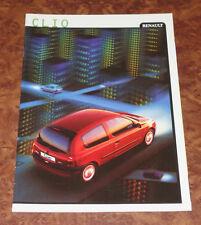 Catalogue RENAULT CLIO 2 de 1999