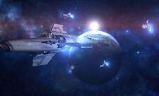 Battlestar Galactica Poster Length: 800 mm Height: 500 mm SKU: 12313