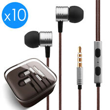 10Pack In-Ear Earphones Headphone 3.5mm for Samsung iPod MP3 MP4 PC iPhone Music