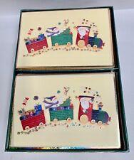 """30"" UNUDED Paper Magic Group 3D Christmas Holiday Santa Greeting Cards (A6)"