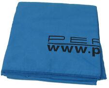 Microfaser Badetuch 180x90cm blau, Mikrofaser Handtuch inkl. Netztasche