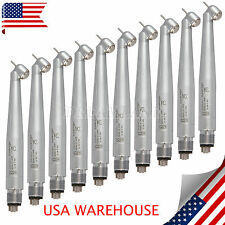 10*US Dental NSK Style Surgical 45° High Speed Handpieces Push 4Holes Spray CA#S