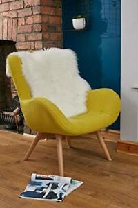 Faux Sheepskin Rug 2x3 ft cute Rug Nursery decor Faux fur rug leather Lamb Mat