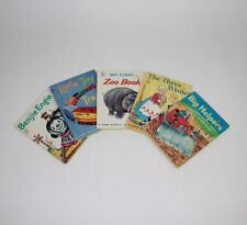 Vintage Lot of 5 Children's Junior Elf Books Toy Train Helpers Engine Zoo Wishes